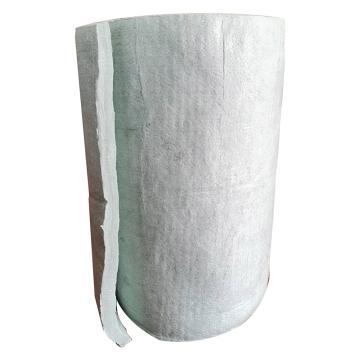 国瑞 耐高温硅酸铝纤维针刺毯,6000×600×30mm,128kg/m3,耐高温1450℃