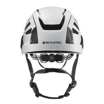 斯泰龙泰克SKYLOTEC 安全帽,PC/ABS壳体,带反光条,BE-391-白色