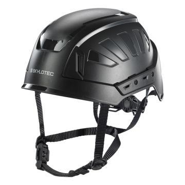 斯泰龙泰克SKYLOTEC 安全帽,PC/ABS壳体,抗电压1000V,带反光条,BE-393-黑色