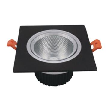 辰希照明 LED方形天花射灯,LCXD3618 功率5W 白光 开孔φ75mm 单位:套