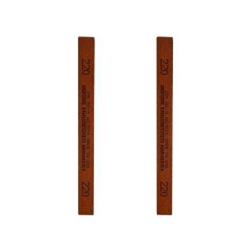 必宝BORIDE 模具抛光油石,1/4*1/2*6寸 600#(6*12*150mm),红色AS-9 600#(12支/盒)