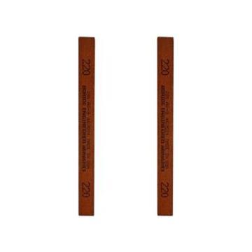 必宝BORIDE 模具抛光油石,1/8*1/8*6寸 220#(3*3*150mm),红色AS-9 220#(12支/盒)