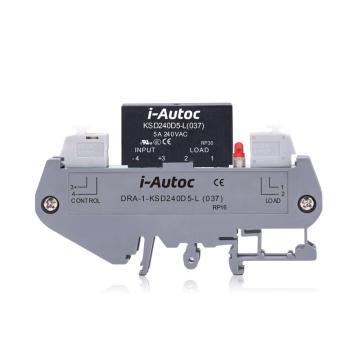 艾奥控 iAutoc 固态继电器 DRA-1-KSD 480VAC 5A 4-32VDC 9/个