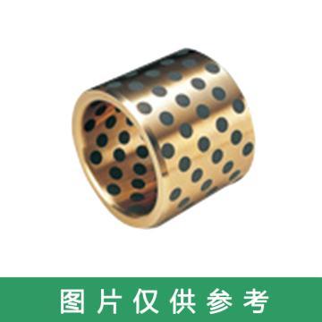 OILES 500SP1-SL1 高强度黄铜类固体润滑剂嵌入轴承,轴套,SPB-081210