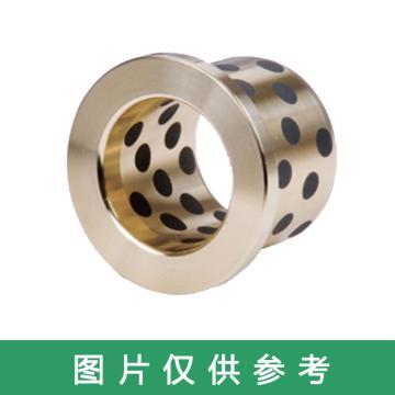 OILES 500SP1-SL1 高强度黄铜类固体润滑剂嵌入轴承,法兰轴套,SPF-1212