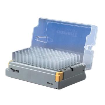 Thermo Scientific Matrix 1.4 mL 字母, 聚丙烯, 圆底管10自动设备专用架每箱 96 管/架,1箱