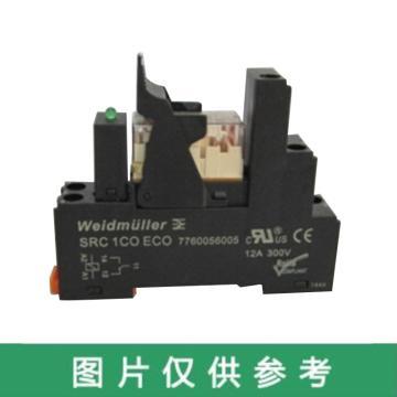 魏德米勒 電子產品,7760056023 RCL Kits 24Vdc 1CO LED,15個/包