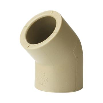 聯塑 45°彎頭(PP-R 配件)白色 dn25
