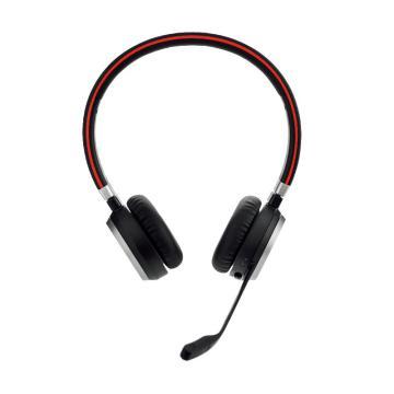 捷波朗(JABRA)EVOLVE 65 USB 無線耳機 音樂耳麥降噪可調節音量大小 連電腦/手機 雙耳