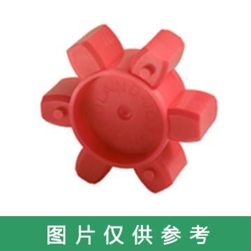 西普力 GM梅花型聯軸器彈性緩沖墊,紅色,GM19