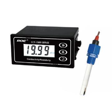 科瑞达 电导率/TDS在线分析仪,CCT-3300E配CON1134-13 电源DC24V 0~2000μS/cm 5m线