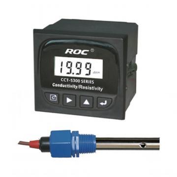 科瑞达 5320E电导率/TDS在线分析仪,CCT-5320E配CON3133-13(20m线) AC220V±15% 0~200μS/cm