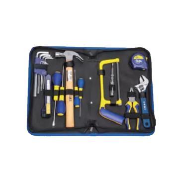 长城精工Greatwall 19件基本维修组合工具,350*223*57,403019