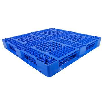 西域推薦 田字網格托盤,全新HDPE,1200*1000*150mm,靜載4.5T,動載1.1T,TK1210TW-B,藍色