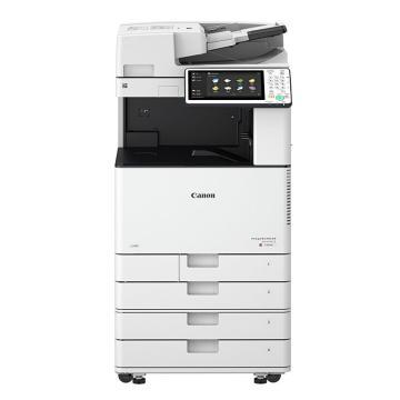 佳能(CANON)彩色數碼復合機,A3(打印 復印 掃描 WIFI)IR-ADV C3520 含同步輸稿器+工作臺 一年保