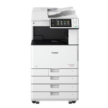 佳能(CANON)彩色數碼復合機,A3(打印 復印 掃描 WIFI)IR-ADV C3530 含雙面輸稿器+工作臺 一年保
