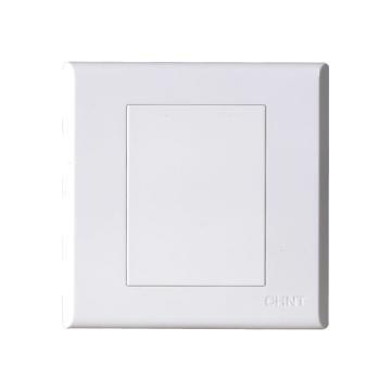 正泰CHINT NEW7S系列一位空白面板,NEW7-S95100 白色