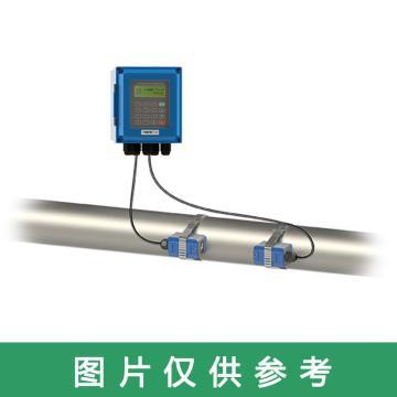 道盛 小壁掛外夾式超聲波流量計,TUF-2000B-TM-1(DN80) 10m線 標準中型探頭 -40~90℃