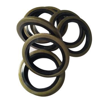 西域推薦,JB982-77組合墊圈,氟橡膠+碳鋼鍍鋅,M16,1個