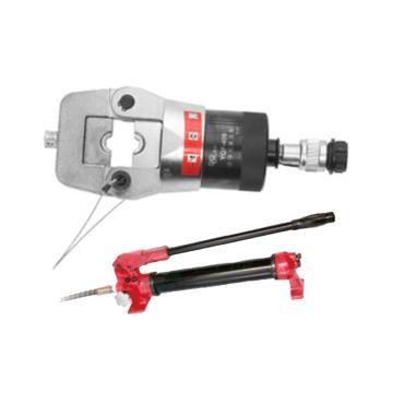 德克液压压接钳套装,压接范围50-400mm²(含压接钳及液压泵),YQF-400+YBS-900