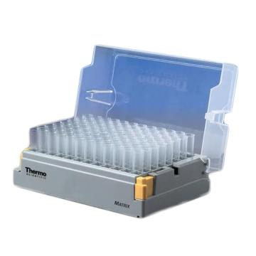 Thermo Scientific Matrix 0.75 mL空白, 聚丙烯, 圆底管,无菌,10按扣架每箱 96管/架,1箱
