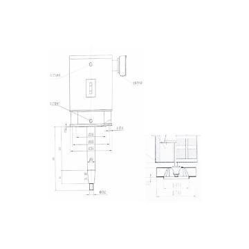 西域推荐 水冷炉用风机(含安装调试),SDGFH68-4-7(含电机,水冷套,散热系统,轴长Φ65-750MM)