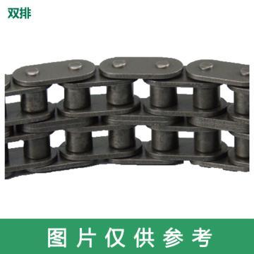 東華自強 B系列直鏈板滾子鏈,60節-1.5M,雙排,C16B-2-60L