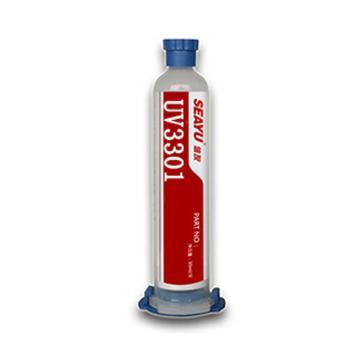 烟台信友 UV固化胶,UV3301,7212080,1kg/瓶