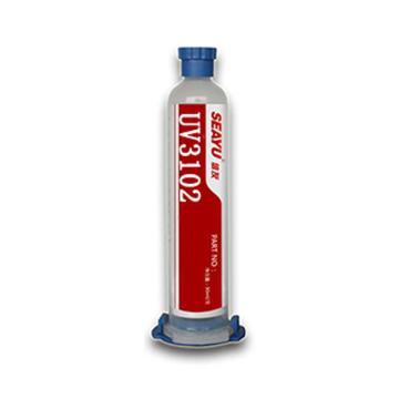 烟台信友 UV固化胶,UV3102,7963080,1kg/瓶