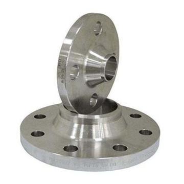 西域推荐 不锈钢304带颈对焊法兰 WN PN25 DN15 RF GB/T9115Ⅱ