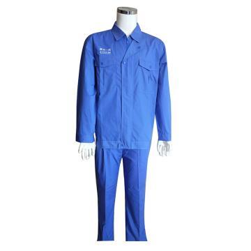 壮鑫 夏装长袖工作服,拉链式结构,XLFZ-001-4XL(同款50件起订)