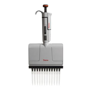 Thermo Scientific F1-ClipTip, 30-300ul 十二道可调量程移液器,1个