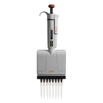 Thermo Scientific F1-ClipTip, 30-300ul 八道可调量程移液器,1个