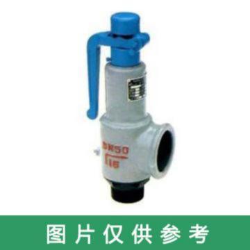 上海倍稳 弹簧式安全阀 A27W-16T DN25,统一压力0.84mpa