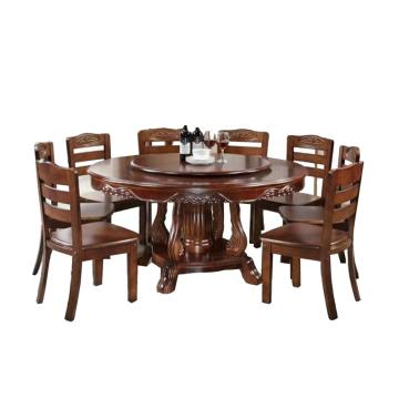 餐桌,直徑1.8米帶轉盤的圓桌