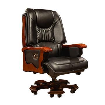 班椅(領導辦公室),材質皮,黑色