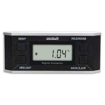 INVOUS 無磁數顯水平儀,4×90°,IS780-80570