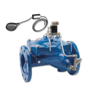 """伯尔梅特 液位控制阀,DN65,PN16,球墨铸铁阀体,双液位电子浮球,2.5""""-450-65-PN16"""