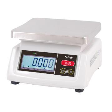 台衡 简易计重桌秤,15kg,最小感量1g