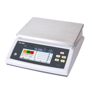 臺衡 高精度電子桌秤(觸屏),3kg,最小感量0.1g