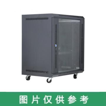 國產 網絡機柜,V6412U標準款 寬550高600深400 黑色