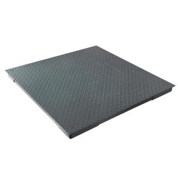 台衡 碳钢小地磅,量程1t,感量0.5kg,磅台尺寸:1000*1000mm