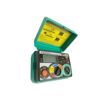 克列茨/KYORITSU 多功能檢測儀,導通絕緣測量回路電阻RCD漏電開關檢測五合一 KEW6011A