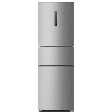 海爾(Haier)風冷無霜冰箱BCD-220WDVL三門冰箱家用靜音小型電冰箱 節能殺菌 0度保鮮