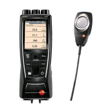 德圖/testo 480多功能測量儀配照度探頭套裝,0563 4800+0635 0543