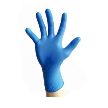 友利格 深藍色耐用型丁腈手套,U2500-L,100只/盒,10盒/箱