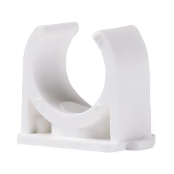 联塑 鞍型管卡(PVC-U给水配件)白色 dn20