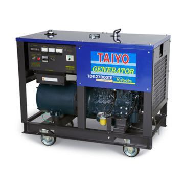 大洋TAIYO 柴油發電機,20.3KVA,220/380V,TDK27000TE