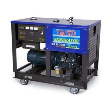 大洋TAIYO 柴油發電機,12.0KW,220V,TDK16000E