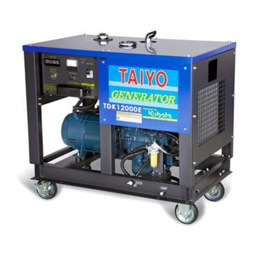 大洋TAIYO 柴油發電機,8.4KW,220V,TDK12000E